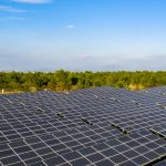 solar photovoltaic system in the forest to illustrate scada application